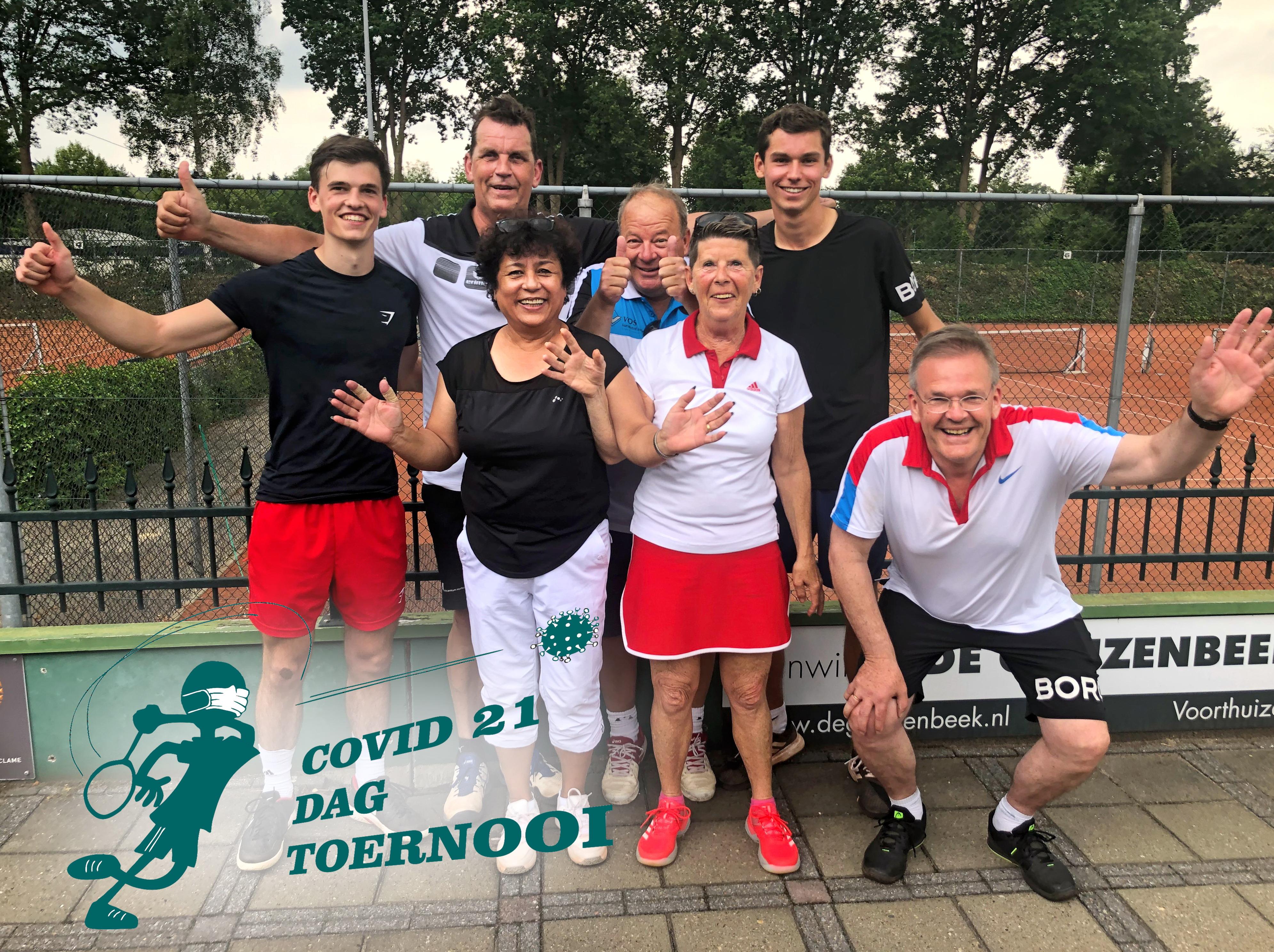 Winnaars Covid 21 Toernooi